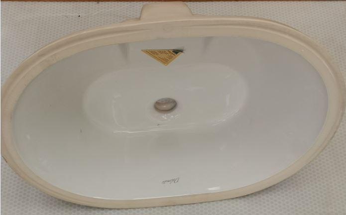 Lavabi In Ceramica Dolomite.Lavabo Sottopiano Ebla Bianco Ceramica Dolomite