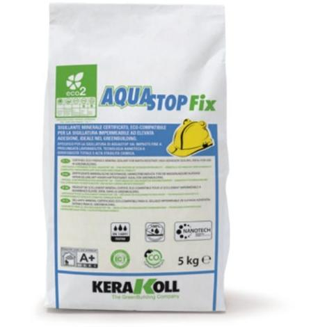 AQUASTOP FIX SIGILLANTE KERAKOLL 5 KG.